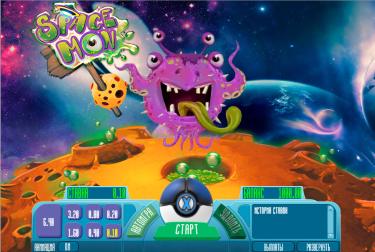 Игровой автомат SpaceMon