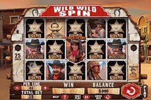 Игровой автомат Wild Wild Spin